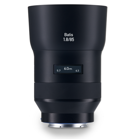 ZEISS Batis 1.8/85 for Sony Mirrorless Cameras (E-mount) product photo frontv1 PDP