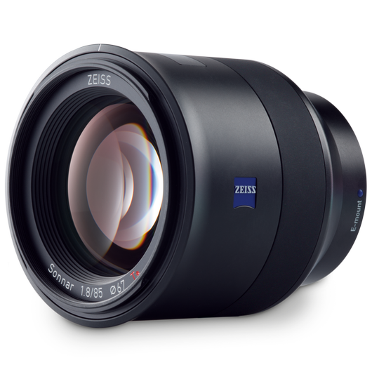 ZEISS Batis 1.8/85 for Sony Mirrorless Cameras (E-mount) product photo frontv3 PDP