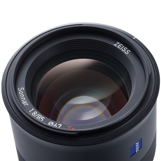 ZEISS Batis 1.8/85 for Sony Mirrorless Cameras (E-mount) product photo frontv5 PDP
