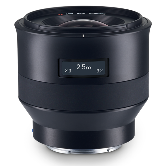 ZEISS Batis 2/25 for Sony Mirrorless Cameras (E-mount) product photo frontv2 PDP