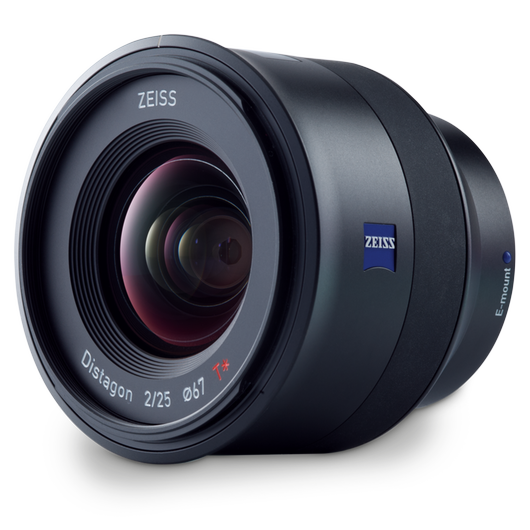 ZEISS Batis 2/25 for Sony Mirrorless Cameras (E-mount) product photo frontv3 PDP