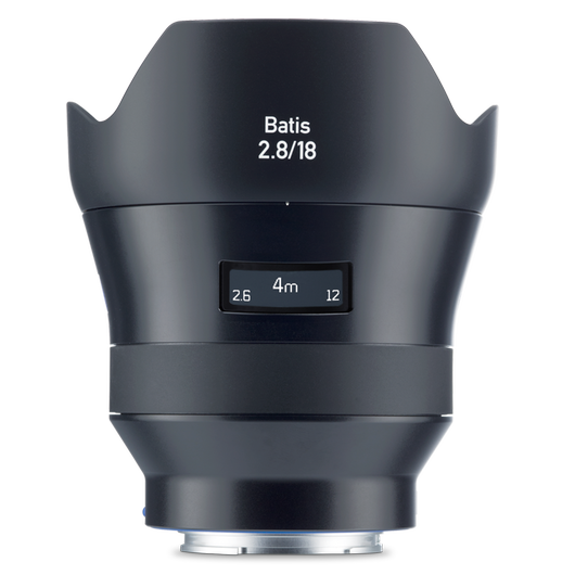 ZEISS Batis 2.8/18 for Sony Mirrorless Cameras (E-mount) product photo frontv1 PDP