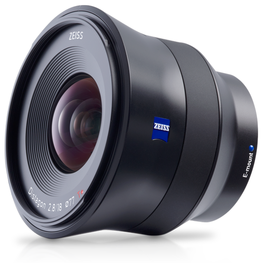 ZEISS Batis 2.8/18 for Sony Mirrorless Cameras (E-mount) product photo frontv2 PDP