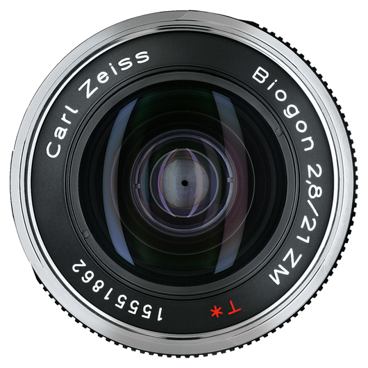 ZEISS Biogon T* 2,8/21 ZM for Leica Rangefinder Cameras (M-mount), Black product photo frontv1 PDP