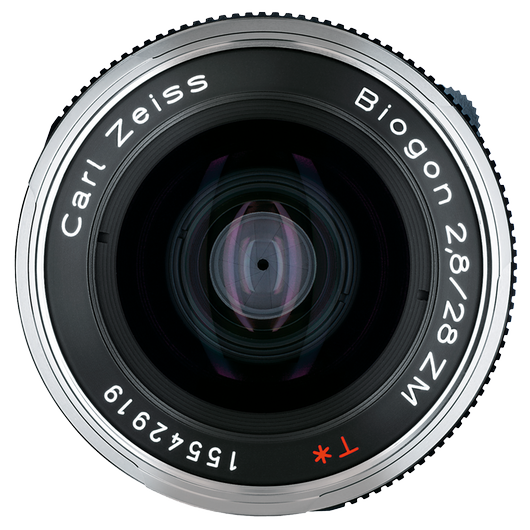 ZEISS Biogon T* 2,8/28 ZM for Leica Rangefinder Cameras (M-mount), Black product photo frontv1 PDP