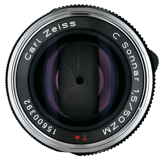 ZEISS C Sonnar T* 1,5/50 ZM for Leica Rangefinder Cameras (M-mount), Black product photo frontv1 PDP