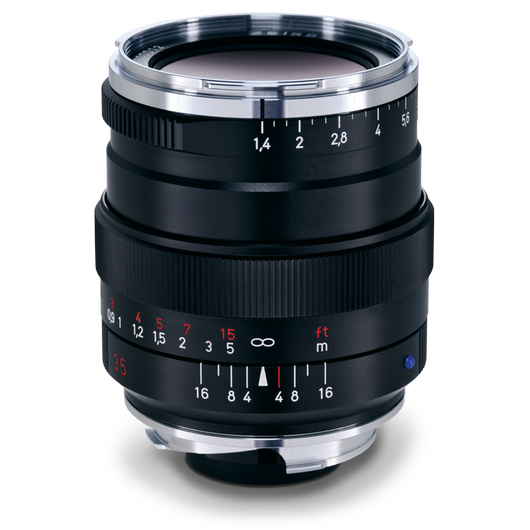ZEISS Distagon T* 1,4/35 ZM for Leica Rangefinder Cameras (M-mount) product photo frontv1 PDP