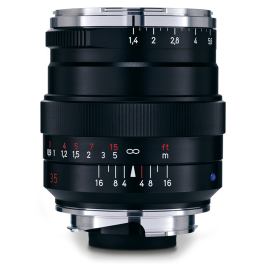 ZEISS Distagon T* 1,4/35 ZM for Leica Rangefinder Cameras (M-mount), Black product photo frontv2 PDP