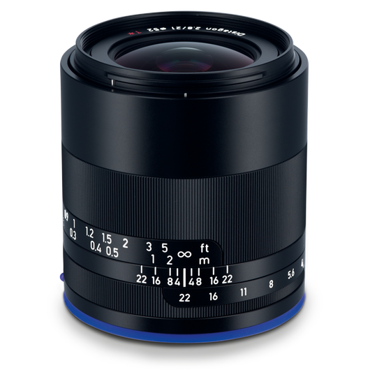 ZEISS Loxia 2.8/21 for Sony Mirrorless Cameras (E-mount) product photo frontv2 PDP