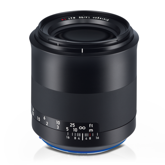 ZEISS Milvus 1.4/50 for Canon DSLR Cameras (EF-mount) product photo frontv2 PDP