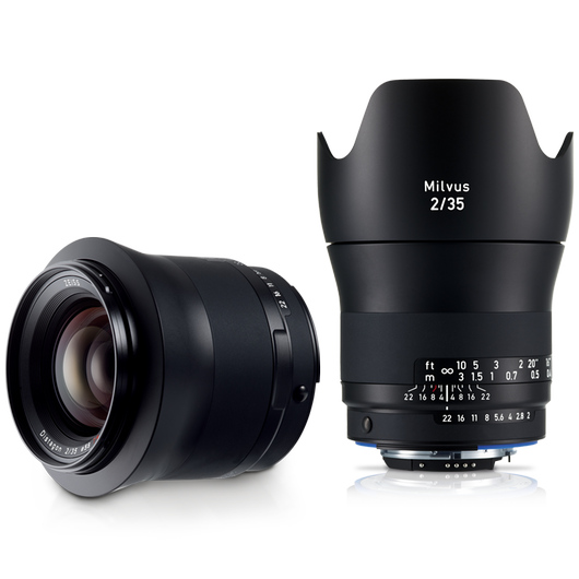 ZEISS Milvus 2/35 for Canon or Nikon SLR Cameras product photo