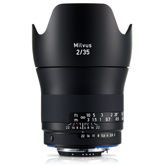 ZEISS Milvus 2/35 for Nikon DSLR Cameras (F-mount) product photo frontv1 PDP