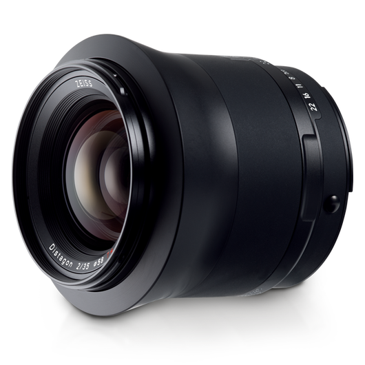 ZEISS Milvus 2/35 for Nikon DSLR Cameras (F-mount) product photo frontv3 PDP