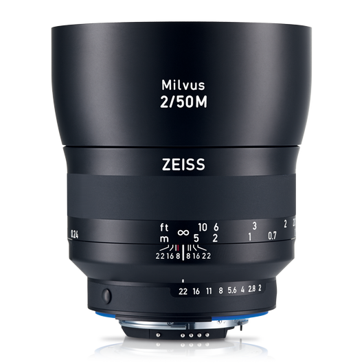 ZEISS Milvus 2/50M for Canon or Nikon SLR Cameras product photo frontv1 PDP