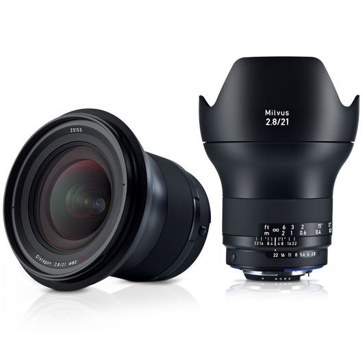 ZEISS Milvus 2.8/21 for Canon or Nikon SLR Cameras product photo