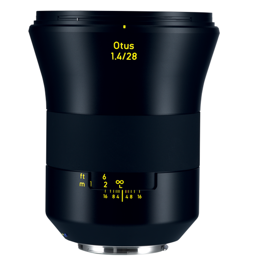ZEISS Otus 1.4/28 for Canon DSLR Cameras (EF-mount) product photo frontv1 PDP
