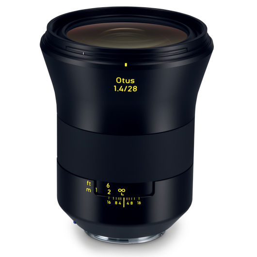 ZEISS Otus 1.4/28 for Canon DSLR Cameras (EF-mount) product photo frontv2 PDP