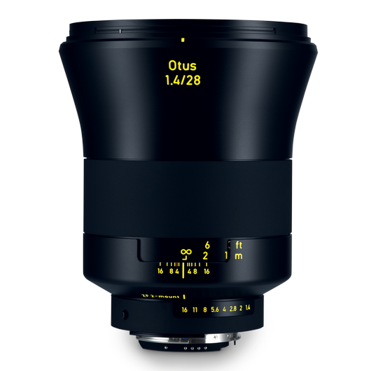 ZEISS Otus 1.4/28 for Nikon DSLR Cameras (F-mount) product photo frontv1 PDP