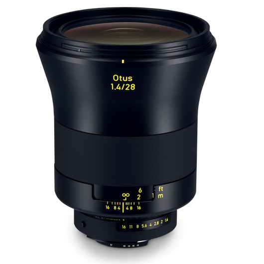 ZEISS Otus 1.4/28 for Nikon DSLR Cameras (F-mount) product photo frontv2 PDP