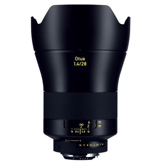 ZEISS Otus 1.4/28 for Nikon DSLR Cameras (F-mount) product photo frontv3 PDP