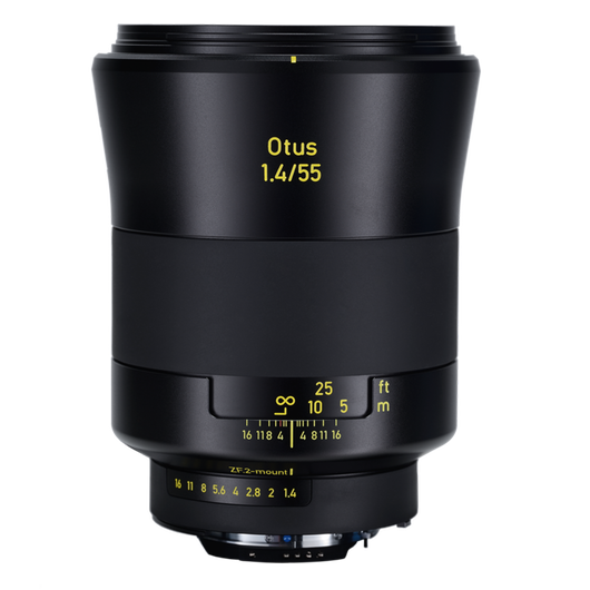 ZEISS Otus 1.4/55 for Canon or Nikon DSLR Cameras product photo frontv1 PDP