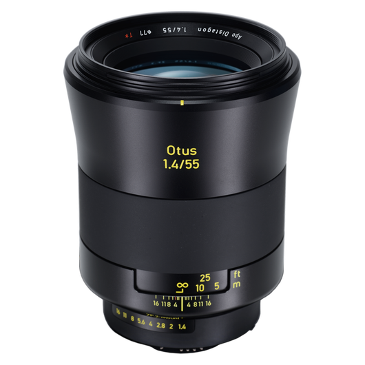 ZEISS Otus 1.4/55 for Canon or Nikon DSLR Cameras product photo frontv2 PDP
