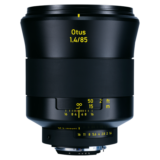 ZEISS Otus 1.4/85 for Canon or Nikon DSLR Cameras product photo frontv1 PDP