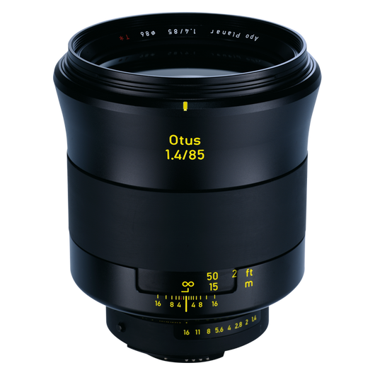 ZEISS Otus 1.4/85 for Nikon DSLR Cameras (F-mount) product photo frontv2 PDP