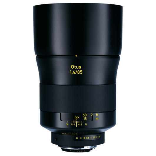 ZEISS Otus 1.4/85 for Nikon DSLR Cameras (F-mount) product photo frontv3 PDP
