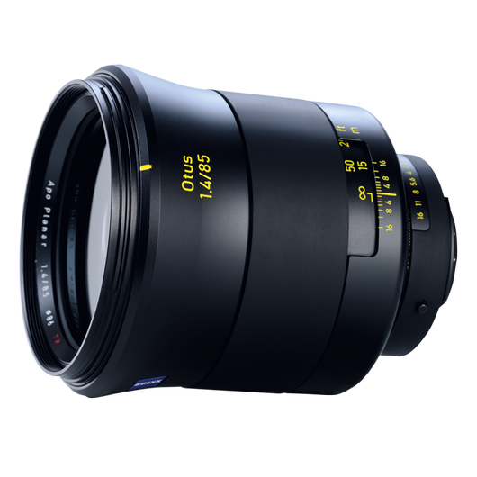 ZEISS Otus 1.4/85 for Nikon DSLR Cameras (F-mount) product photo frontv4 PDP