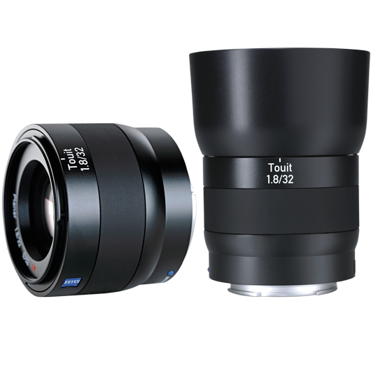 ZEISS Touit 1.8/32 for Sony or Fujifilm Mirrorless APS-C Cameras product photo