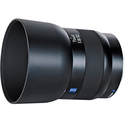 ZEISS Touit 1.8/32 for Sony or Fujifilm Mirrorless APS-C Cameras product photo frontv5 PDP