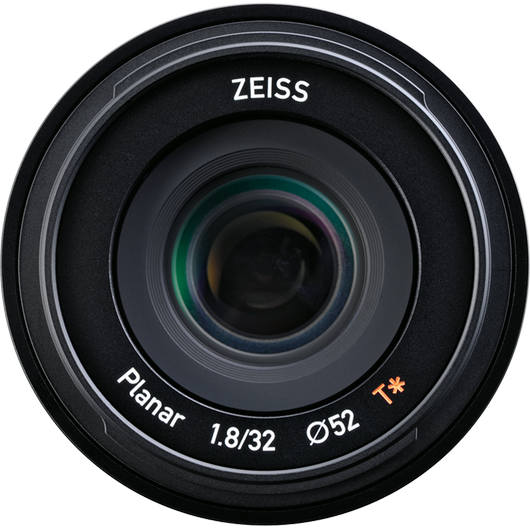 ZEISS Touit 1.8/32 for Sony or Fujifilm Mirrorless APS-C Cameras product photo frontv6 PDP
