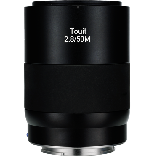 ZEISS Touit 2.8/50M for Sony Mirrorless Cameras (E-mount) product photo frontv3 PDP