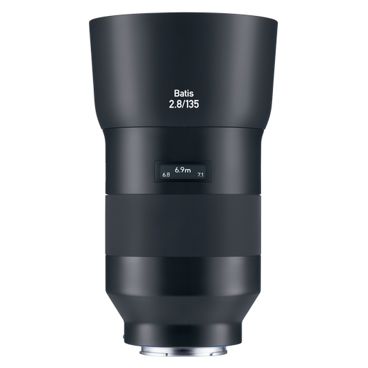 ZEISS Batis 2.8/135 for Sony Mirrorless Cameras (E-mount) product photo frontv1 PDP