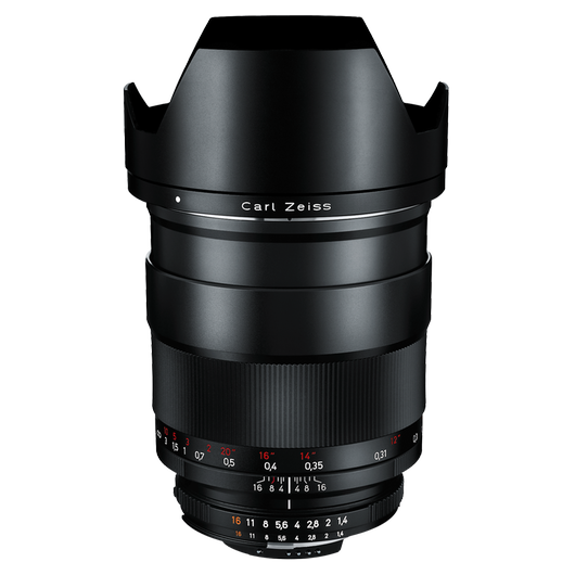 ZEISS Distagon T* 1,4/35 for Nikon DSLR Cameras (F-mount) product photo frontv2 PDP