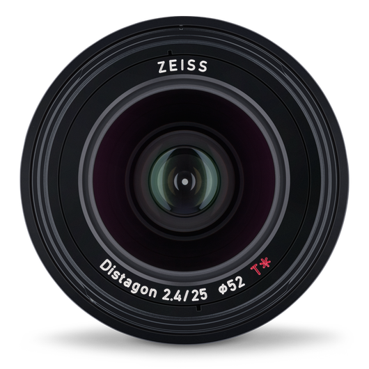 ZEISS Loxia 2.4/25 for Sony Mirrorless Cameras (E-mount) product photo frontv4 PDP