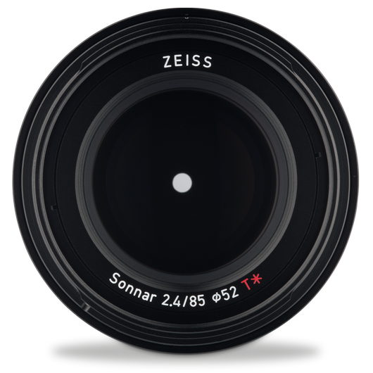 ZEISS Loxia 2.4/85 for Sony Mirrorless Cameras (E-mount) product photo frontv4 PDP