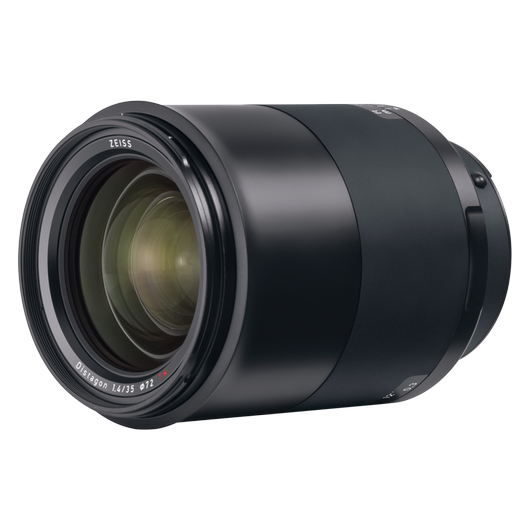 ZEISS Milvus 1.4/35 for Nikon DSLR Cameras (F-mount) product photo frontv2 PDP