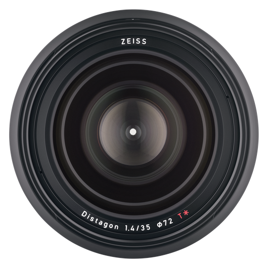 ZEISS Milvus 1.4/35 for Nikon DSLR Cameras (F-mount) product photo frontv4 PDP