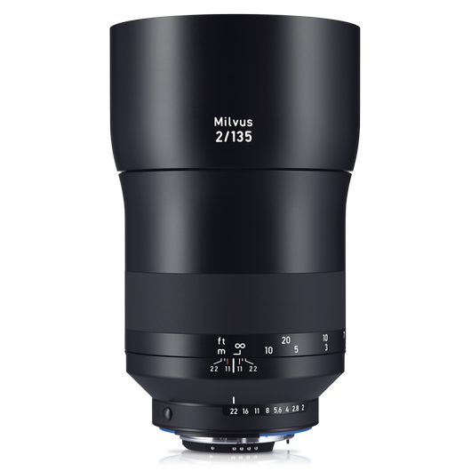 ZEISS Milvus 2/135 for Nikon DSLR Cameras (F-mount) product photo frontv1 PDP