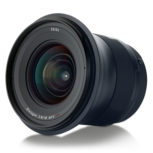 ZEISS Milvus 2.8/18 for Nikon DSLR Cameras (F-mount) product photo frontv2 PDP