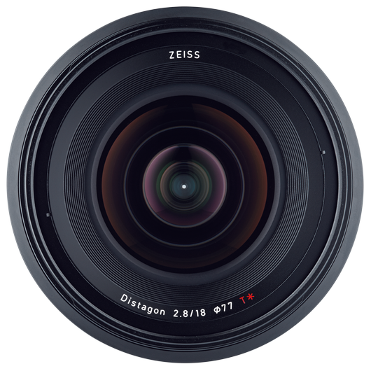 ZEISS Milvus 2.8/18 for Nikon DSLR Cameras (F-mount) product photo frontv3 PDP