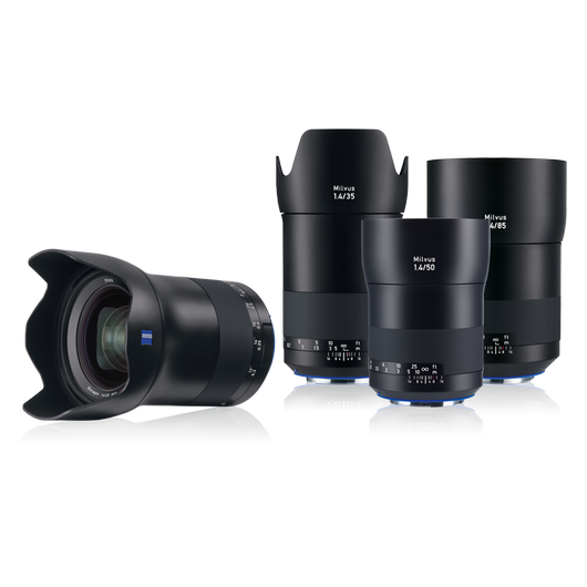 ZEISS Milvus Lens Bundle for Canon EF-Mount product photo frontv1 PDP
