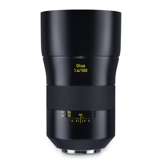 ZEISS Otus 1.4/100 for Canon DSLR Cameras (EF-mount) product photo frontv1 PDP