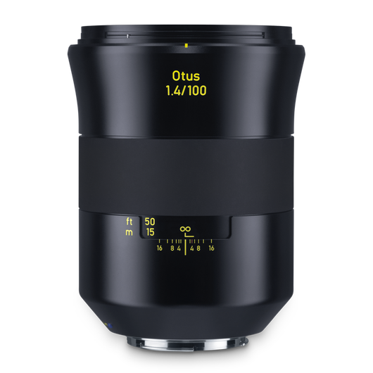 ZEISS Otus 1.4/100 for Canon DSLR Cameras (EF-mount) product photo frontv2 PDP