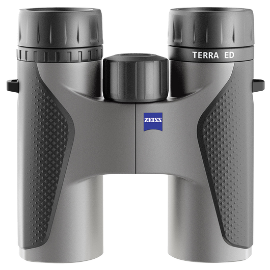 ZEISS Terra ED 10x32, Black/Grey product photo frontv1 PDP