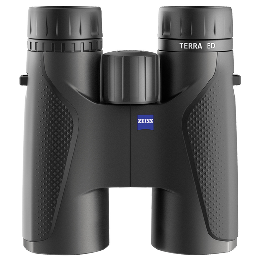 ZEISS Terra ED 10x42, Black product photo frontv1 PDP