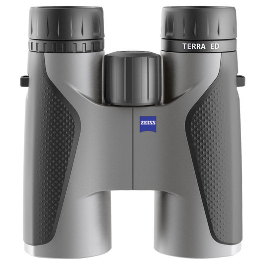 ZEISS Terra ED 8x42, Black/Grey product photo frontv1 PDP