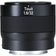 ZEISS Touit 1.8/32 for Sony or Fujifilm Mirrorless APS-C Cameras product photo frontv3 XS